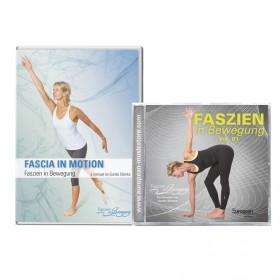 Faszien in Bewegung Kombi Angebot: DVD + CD