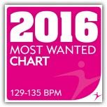 2016 Most Wanted - Chart - 129-135BPM