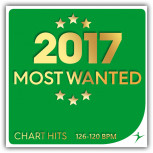 2017 Most Wanted Chart Hits - 126-120 BPM